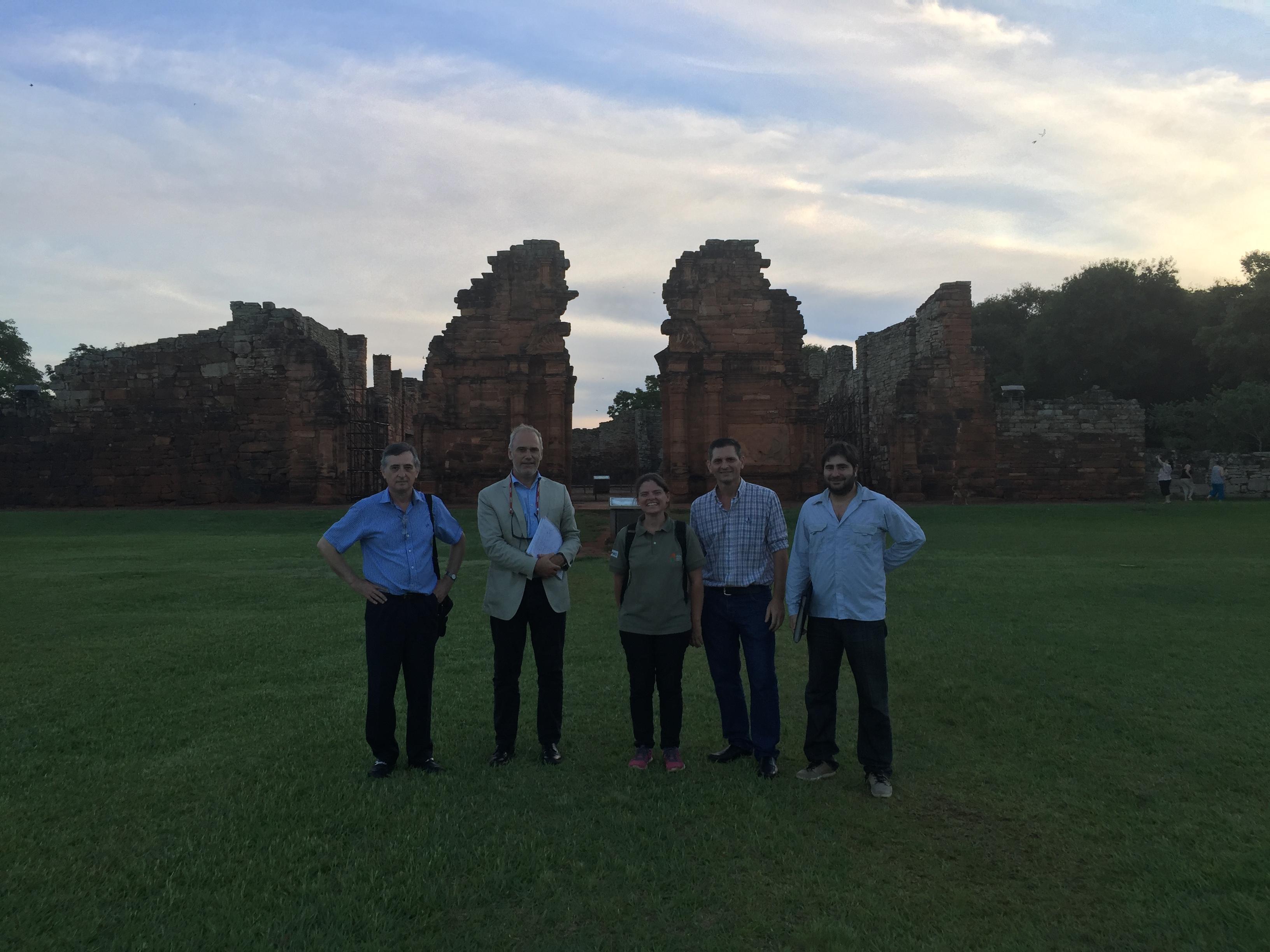 Corredor turístico de las Misiones Jesuíticas en Sudamérica
