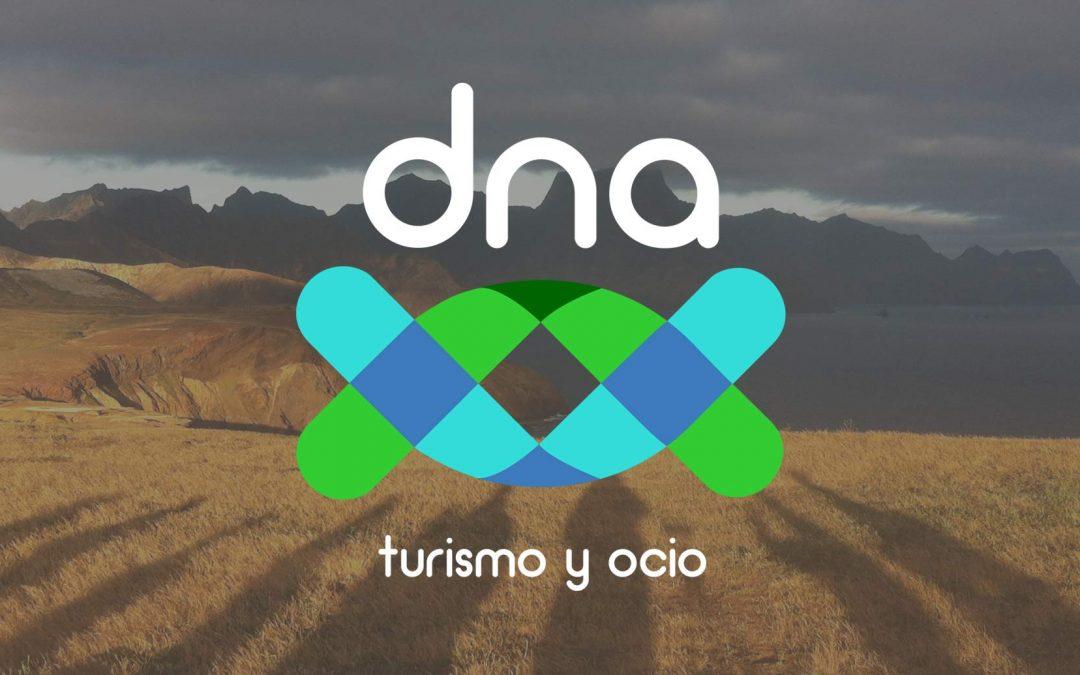 dna turismo y ocio, nueva web, nueva marca y equipo renovado