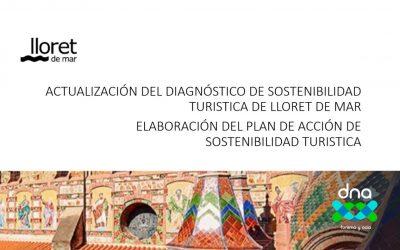 Actualización del diagnóstico de Sostenibilidad Turística de Lloret de Mar